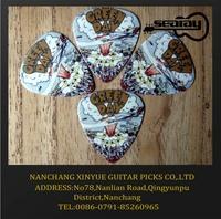 customize guitar pick plectrum belong to you own