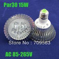 Freeshipping 12pcs/lot dimmable 15W  high power PAR30 epistar LED E27 15W LED light bulb lamp