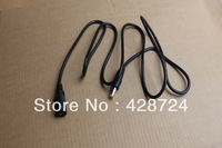 High quality!  Extension cable DC cord female 5.5*2.1 mm plug male 5.5*2.1 mm  30 pcs per lot  on sale!