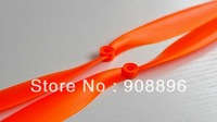 "9x4.7"" orange 15 pair/pack CW/CCW Slow Flyer Propeller(ABS+Glass Fiber)"