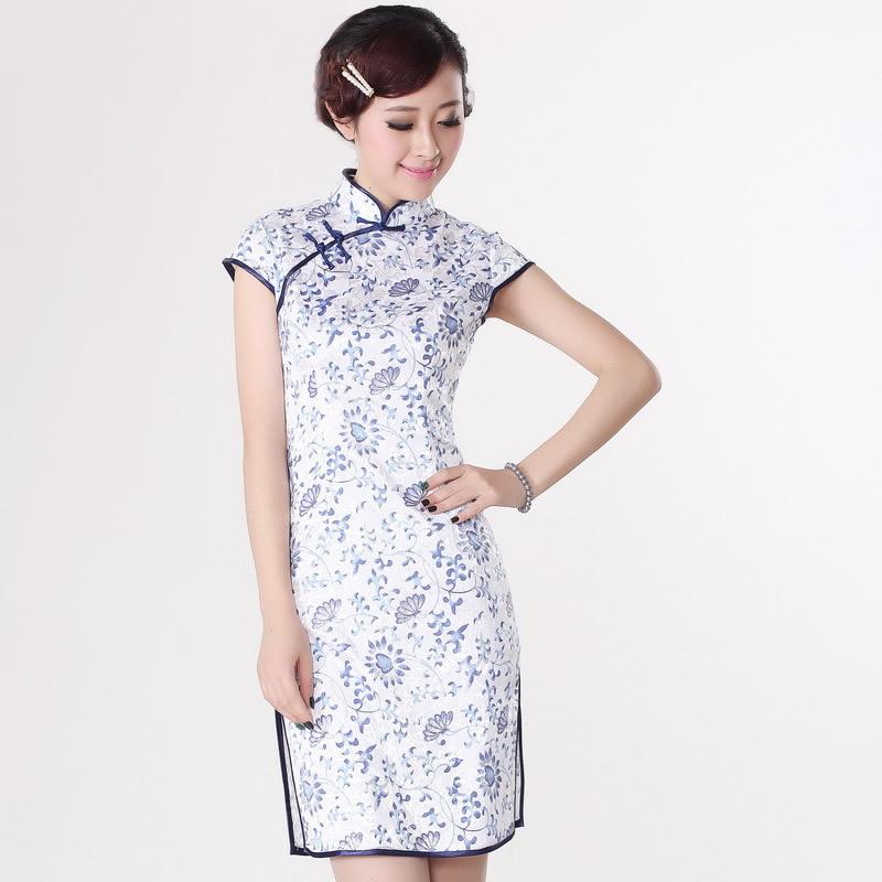 Qipao Dress Pattern Sexy Chinese Tr...