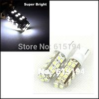 Hk post Free Shipping 20pcs/lot 194 168 T10 28 SMD 3020 1206 Led Car Lighting T10 28SMD  LED Signal Indicator Lights Whtie 12V