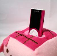 Free shipping Mini clip MP3 with screen+flashlight+English Menu+speaker sports MP3, 2G TF card
