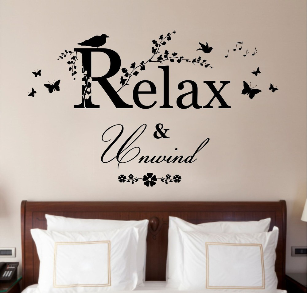 Trend wall quotes for bedroom