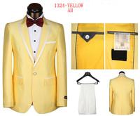 2014 new arrival men's dress suit brand fashion tuxedo suit for men high quality slim fit wedding suit size s-4xl