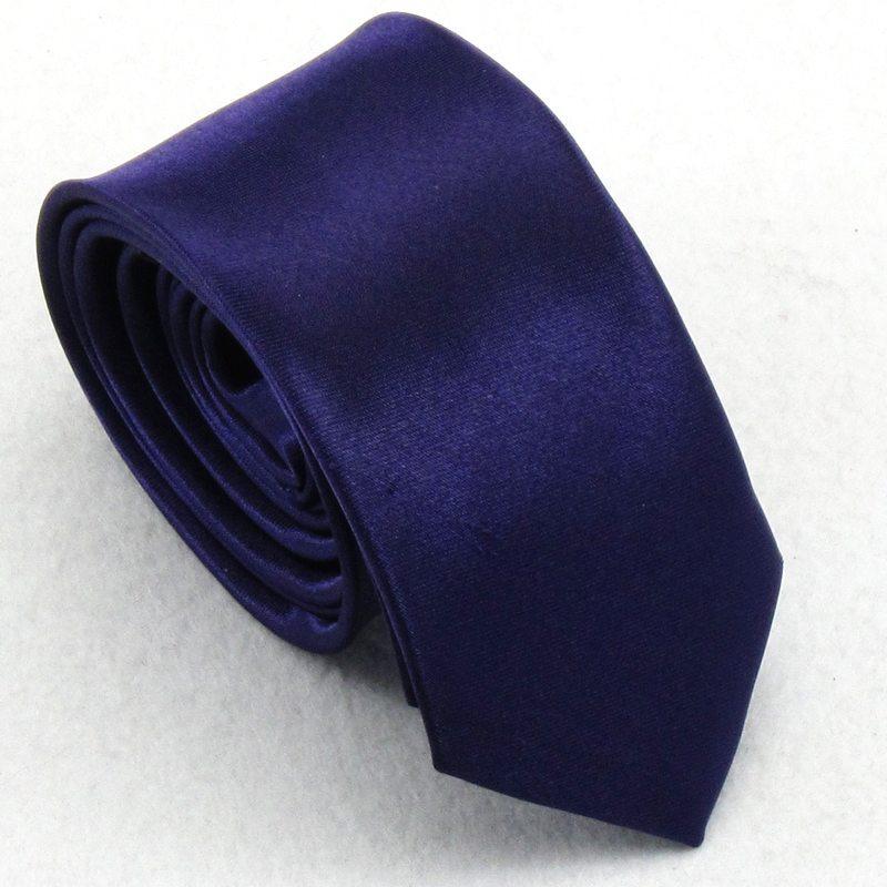 Fashion male 5cm women's student tie Deep purple tie(China (Mainland))