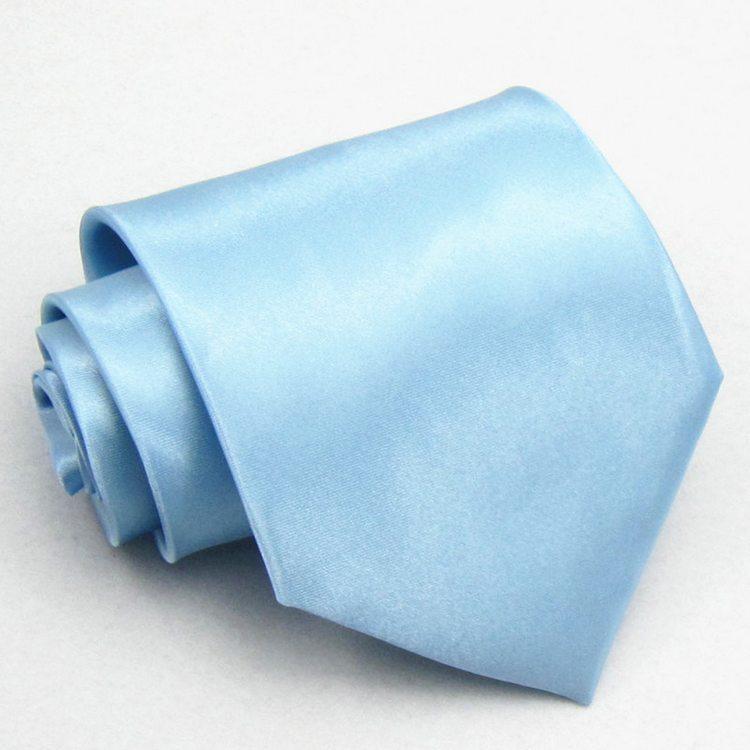 10cm standard male formal tie tooling tie light blue big tie(China (Mainland))