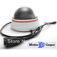 Free Shipping Wifi IP Dome Camera Wireless with Night Vision and Motion Detection