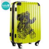 Lulu fashion universal wheels trolley luggage abs pc travel bag luggage check box
