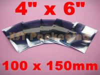 "100 ANTI Static Metallic Shielding Bags USABLE SIZE_4"" x 6""_100 x 150mm"