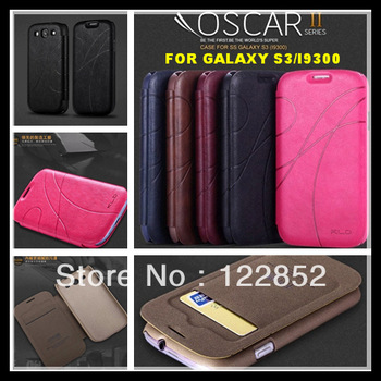 5 pcs/lot Wholesale Luxury Leather Case For Samsung Galaxy S3 I9300 Cell Phone Cover With Card Holder Hybrid Wallet Cases