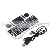 Mini Portable multi-media remote control 2.4GHz Wireless Keyboard 92 Keys with Touchpad for pad/pc xbox360/ps3 mobile phone