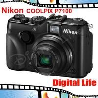 Nikon COOLPIX P7100 10.1 MP Digital Camera - Black