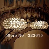 the light fades slowly Modern minimalist living room Foscarini Style L Caboche  pendant light acrylic ball lamp