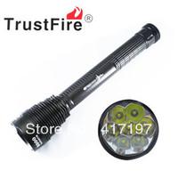 High Power Flashlight lamp torch 5 Mode 8000 Lumens 7 X CREE XM-L T6 LED 6*18650