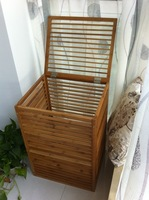 Bamboo storage rack for living room