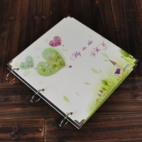 12 diy photo album baby photo album big ben handmade gift 2 corner posts 1 pen  FREE SHIPPING