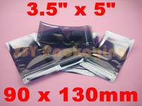 "100 ESD Anti-Static Shielding ZIP LOCK Bags USABLE SIZE_3.5"" x 5""_90 x 130mm"