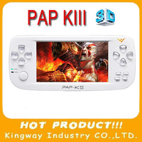 "PAP KIII 4.3"" 16:9 TFT Screen 4GB Handheld mp5 Player mp4 Player Support Camera FM TV-Out Portable Game Consoles"