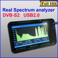 Sathero SH-600HD DVB-S2 Digital Satellite Finder Meter Satfinder HD with Spectrum Analyzer 7inch LCD, USB2.0, HDMI Output