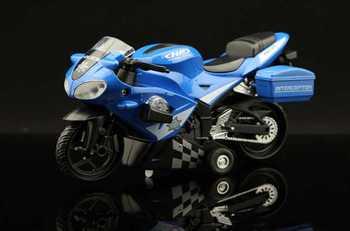 NickYard* Acoustooptical motorcycle world cars alloy WARRIOR vocalization light emitting alloy car model