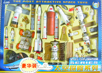 3c space assembling toys stirringly 10 airship
