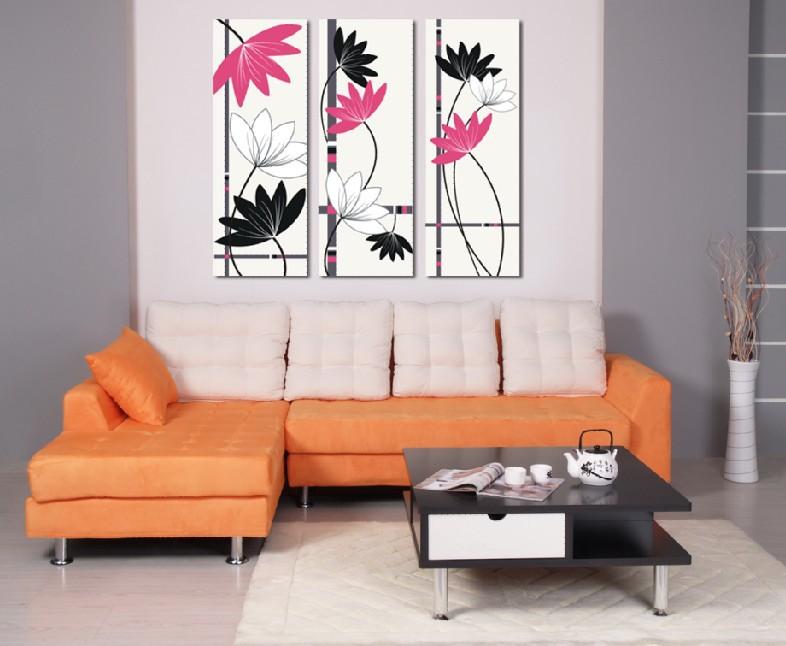 Online kopen wholesale verf lotusbloem uit china verf lotusbloem groothandel - Verf modern muur ...