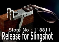 Bow release for Slingshot and Catapult ,not compound bow ,free shipping