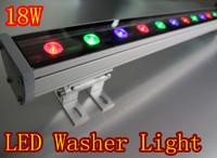 5pcs/lot IP66 waterprooof 18*1W  18W LED Wall Washer  Flood bulb outdoor light 85v-265v