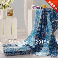 Towel fashion 100% cotton yarn dyed cotton jacquard bath towel 150cm*80cm 588g