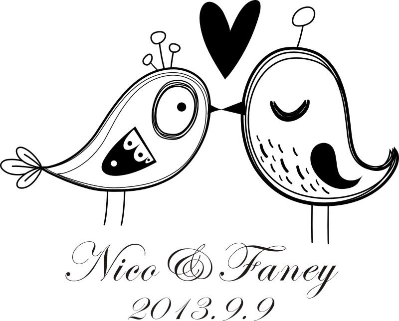 Love Bird Wedding Invitations for good invitations design