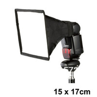 5pcs/lot  The high quality!External flash softbox mini diffusers 15cm *17cm diffusers 15* 17