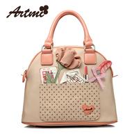 Artmi women's bags 2013 handbag messenger bag PU shell bag women's handbag ZSAWB09