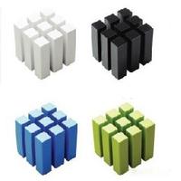 free shipping hot sale new Te multi-purpose magic cube storage rack cd rack cable winder chejian shelf multifunctional mount 93g