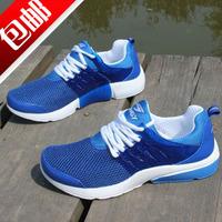 Men's male boys sport shoes casual shoes breathable  network fashion single shoes