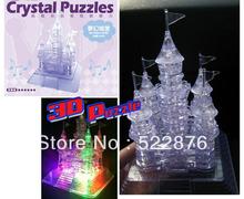 wholesale 3d crystal puzzle castle