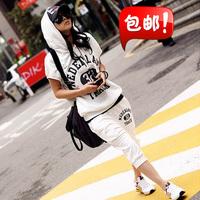 2013 short-sleeve casual set women summer sportswear plus size sports set Women