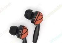 2013 Headphone Earbuds Basketball Peach Mobile MP5 Earphone Gift