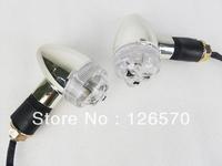 Free Shipping Black Skeleton Skull LED Turn Signal Indicators Light for Kawasaki Vulcan VN 500 750 Honda Shadow VT VTX Goldwing