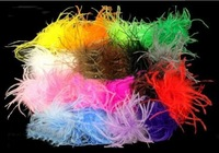 Mix colors! Puffs ostrich puffs ostrich feathers ostrich puffs clothing accessories, headwear, headdress flower