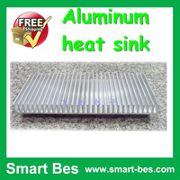 HOT~~Free Shipping ~Smart Bes!~  Module radiator-fan led radiator heatsink 100*220*18mm aluminum heatsink led