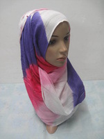 Islamic oblong pashmina scarf with size 165cm*65cm