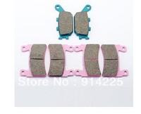 10pcs  6x Front & Rear Brake Pads for HONDA CBR 600 F4 900 929 954 RR RVT 1000R 98-06   Free shipping