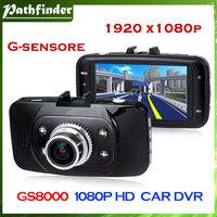 Model:GS8000 2013 New GS8000 Full HD 1920x1080P Car Camera Recorder 2.7 inch LCD G-Sensor HDMI 25FPS IR Night Vision dvr