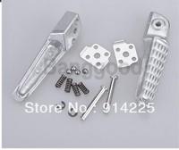 10pcs Rear Footrest Foot Pegs Left Right For Kawasaki Ninja ZX6R 03-11 ZX10R 04-11   Free shipping
