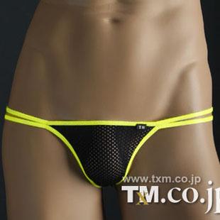tm male T panties high-elastic nylon net fabric t perspectivity 0018 sexy(China (Mainland))