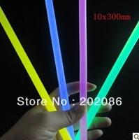 Wholesale party supply fluorescence stick liquid Glow stick party supply KTV light 10x300mm 24pcs/pail free shipping