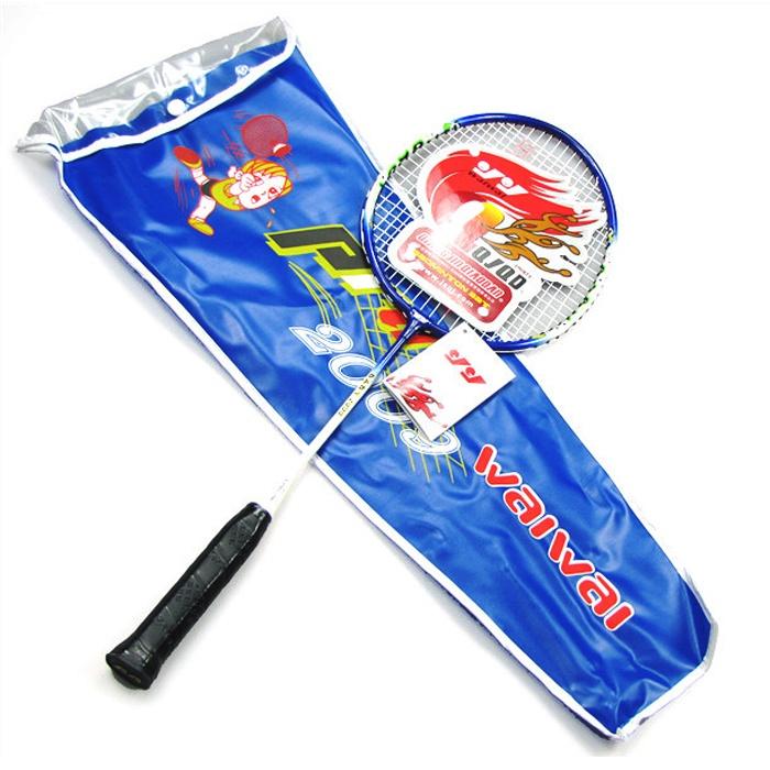Waiwai 2009 aluminum alloy child yy badminton set(China (Mainland))