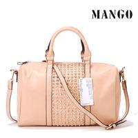 Mng women's handbag mng bag mango metal rivet women's handbag bag shoulder bag free shipping
