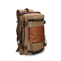 Free Shipping,New Fashion Mens Canvas Backpack Mountaineering Bags Travel Bag